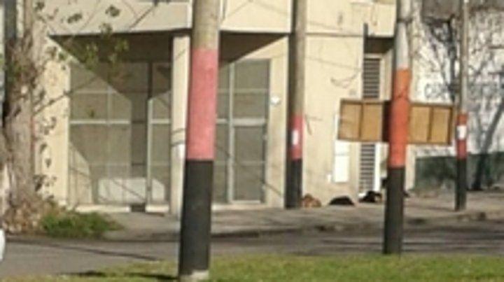 Edificio. El lugar donde detuvieron a Costeleta ayer a la mañana.