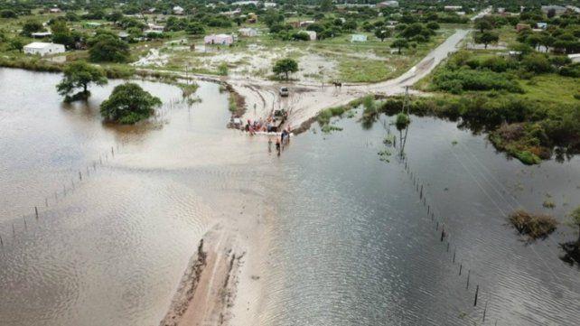 Preocupación en el gobierno por las inundaciones en el norte provincial