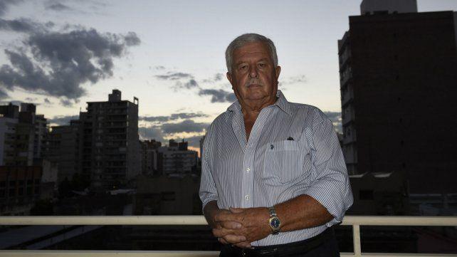 Maiorano, en su departamento cuando dialogó con La Capital en 2016.