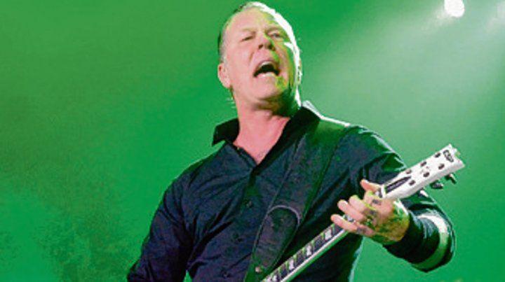 El líder de Metallica debuta como actor