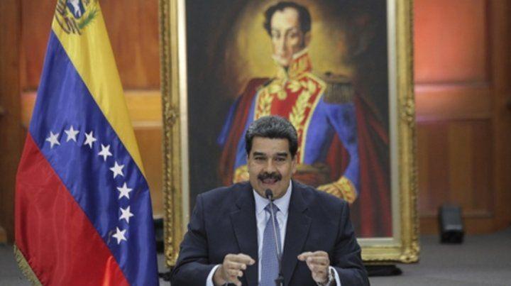 Contra todos. Maduro ha denunciado reiteradamente planes golpistas orquestados por Estados Unidos.