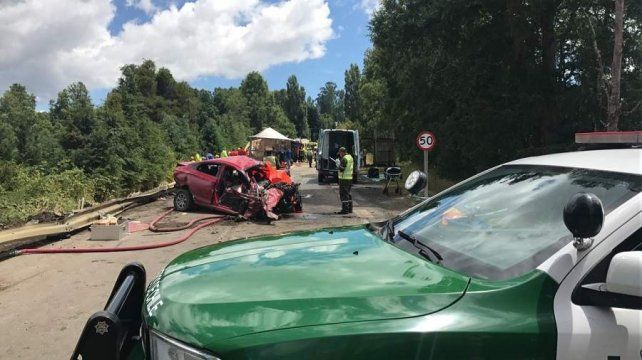 Tragedia en Chile: murieron nueve personas y hay once heridos
