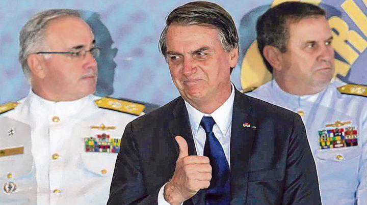Abandono. Bolsonaro argumentó que Brasil es un país soberano para decidir si acepta o no a migrantes.