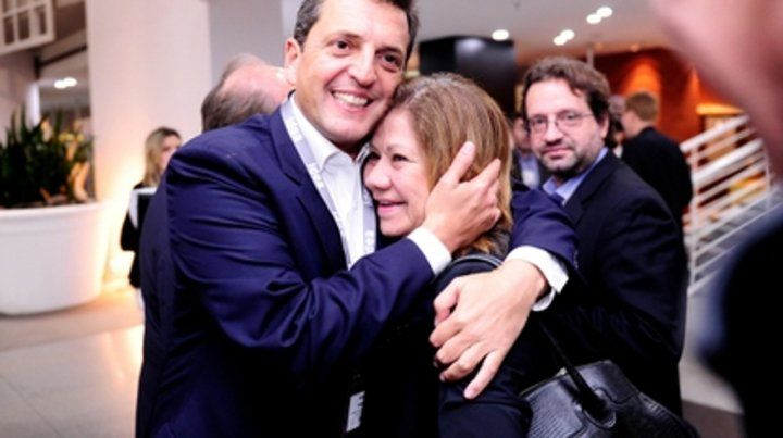 Defensora. Graciela Camaño negó que Sergio Massa comparta una misma visión del país con Cristina Kirchner.