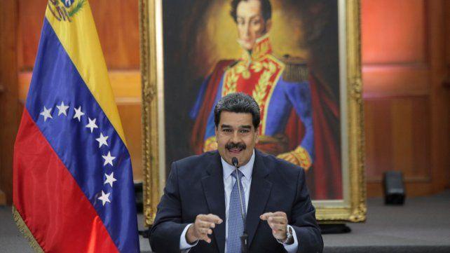 Maduro dijo que Mauricio Macri es el destructor de la Argentina