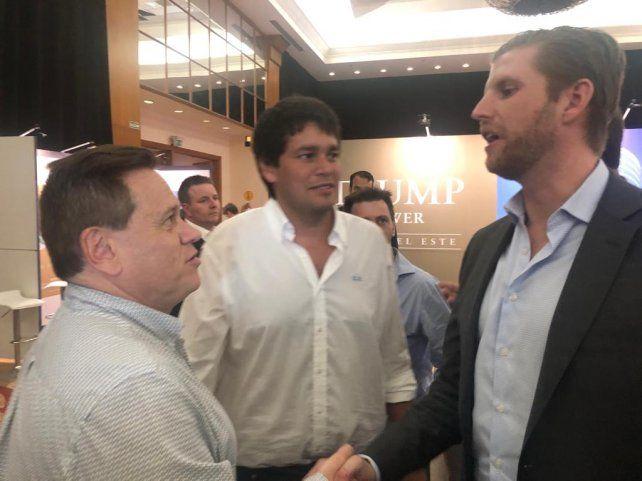 El hijo de Donald Trump prometió futuros negocios con Argentina