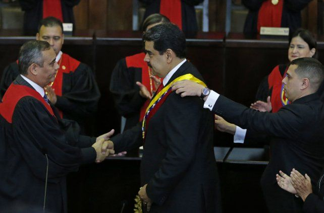 Maduro inicia su segundo mandato como presidente de Venezuela
