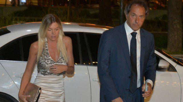 La modelo fue pareja del exgobernador de Buenos Aires.