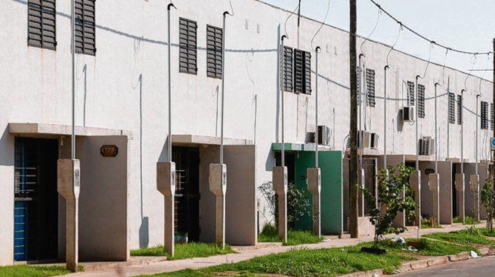 Zona norte. Son casas ubicadas en los barrios Olímpico y Fontanarrosa.