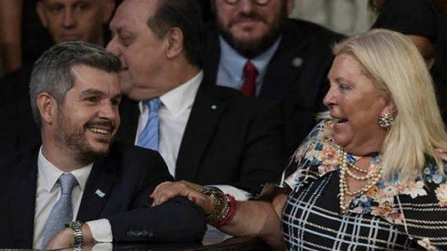 El encuentro sirvió para distender el vínculo entre la líder de la Coalición Cívica y el gobierno de Macri