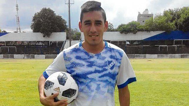 Experiencia. Nicolás Echegaray viene de jugar cinco años en el fútbol del ascenso.