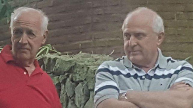 Lavagna y Lifschitz, ayer en Cariló. Almorzaron y hablaron de política