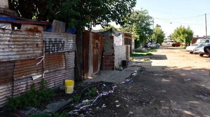 El sitio. El 30 de diciembre aquí mataron a Luis García y Kevin Roldán.