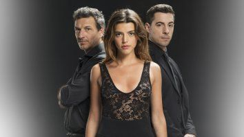 Federico Amador, Calu Rivero y Esteban Lamothe están al frente de la telenovela de Telefé que arranca mañana en el prime time.