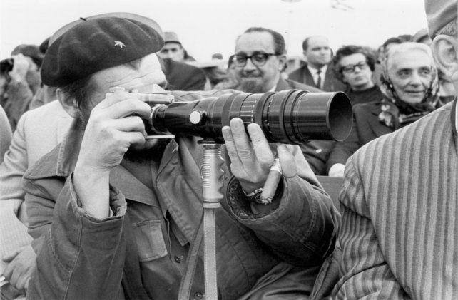 Fotografía tomada al Che por Liborio Noval