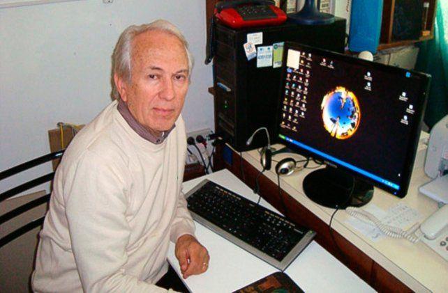 Investigador. El experto Eduardo Piacentini es parte del Instituto de Física Rosario.