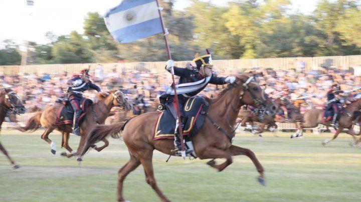 Al ataque. La carga de caballería