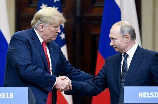 Bajo sospecha. El FBI quiso saber si Trump colaboró con Rusia y si fue manejado por Putin.