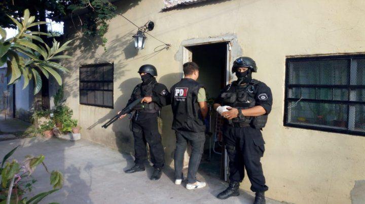 El lugar. En este pasillo de Las Flores al 3600 fue detenido Oscar G