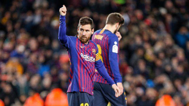 El Barça ganó y Lionel Messi llegó a su gol número 400 en la Liga