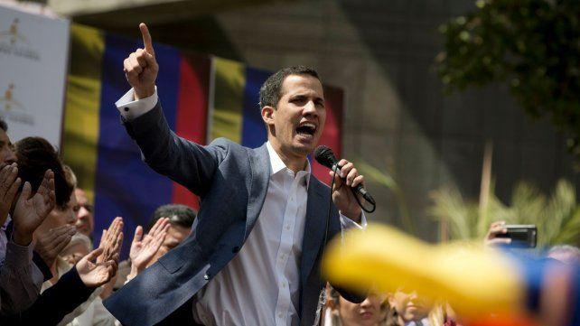 Detuvieron por unos minutos al titular de la Asamblea Nacional de Venezuela