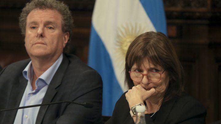 Milman fogoneó una posible candidatura de la ministra de Seguridad.