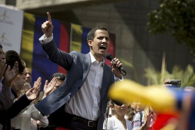 Líder joven. Juan Guaidó surgió como el nuevo referente de la oposición. Un peligro para Maduro.