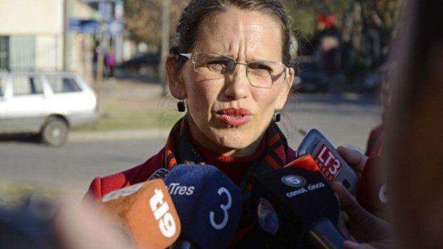 Critica. La jueza de Menores María Dolores Aguirre Guarrochena.
