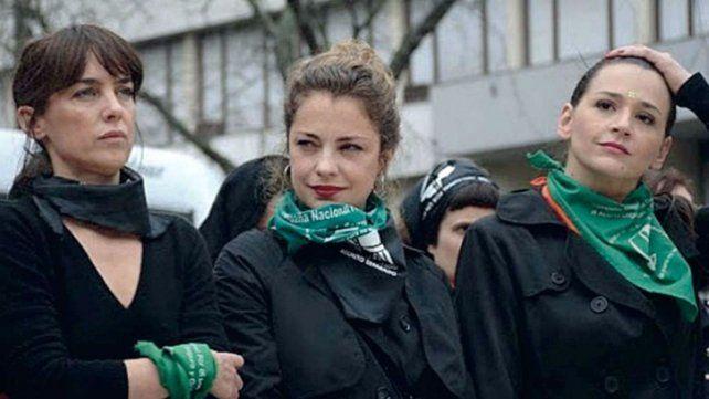 El respaldo de actrices a Dolores Fonzi tras la intimación de Burlando