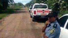 El cadáver fue hallado a 500 metros al este de la Ruta Provincial 6, en la localidad de Esperanza.