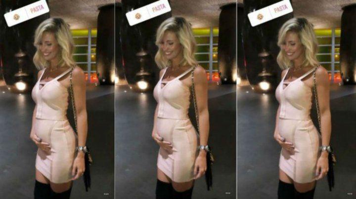 Rocío Guirao Díaz sorprendió a todos con su pancita de embarazada