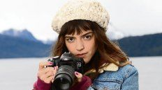 Fotógrafa enamorada. Calu Rivero es la protagonista de la tira.