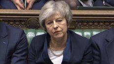 Situación límite. La última vez que un premier inglés sufrió un revés tan contundente fue en 1924.