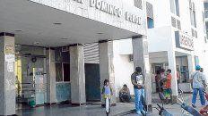 Frente del hospital público de Tartagal donde no pudieron salvarle la vida al paciente.