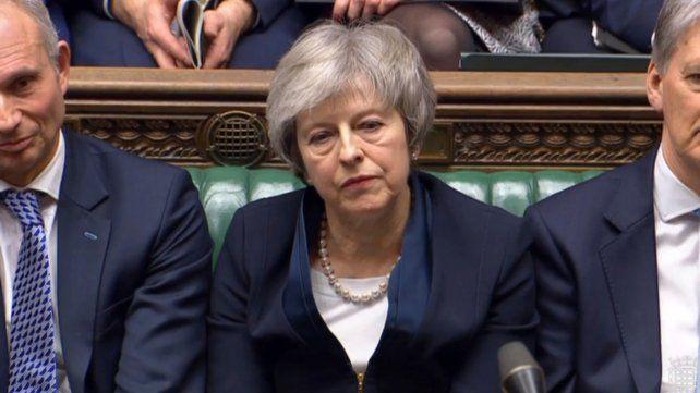 Theresa May recibió una durísima derrota con su plan de Brexit
