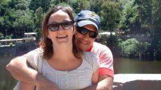 Víctima y victimario. El femicidio conmovió a Gálvez.