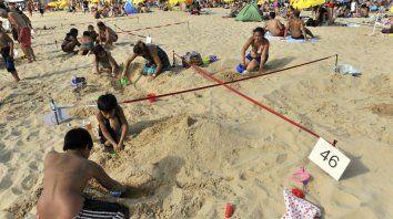 Se viene la competencia de esculturas de arena