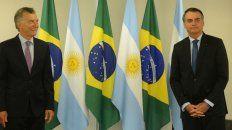 El presidente se encontró esta mañana con su par de Brasil.