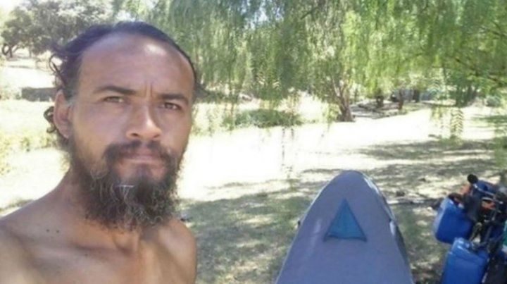 Cristian Corizzo tenía 44 años. Quería llegar a la costa brasileña en bicicleta.