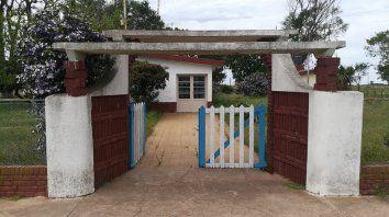 El lugar. La escuela, ubicada a unos 10 kilómetros del casco urbano, dejó de funcionar por falta de matrícula.