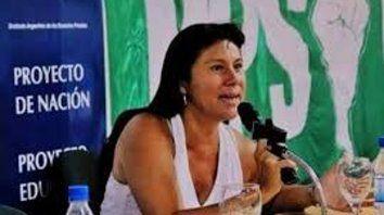 La referente del PPS Alicia Cavallero cargó contra el ajuste de Macri.