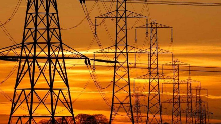 Caída de la demanda de energía eléctrica