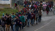 Odisea. Hondureños se aprestan a cruzar Guatemala rumbo a México.
