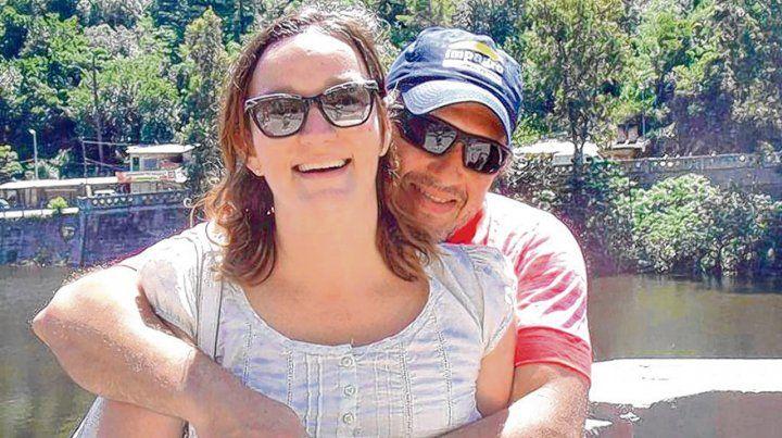 Por seis años. Jorge y Danisa estaban casados desde 2012. Hoy él será imputado ante un juez en Gálvez.