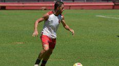 Afilado. La Fiera jugó ayer los 70 minutos del amistoso ante Rampla Juniors. Lució activo en su vuelta al Coloso.