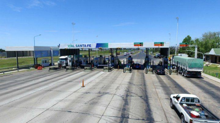 Por una protesta gremial, levantan las barreras en el peaje a Santa Fe
