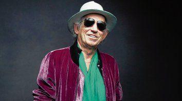 Inoxidable. El guitarrista de los Stones tiene cuatro discos como solista.