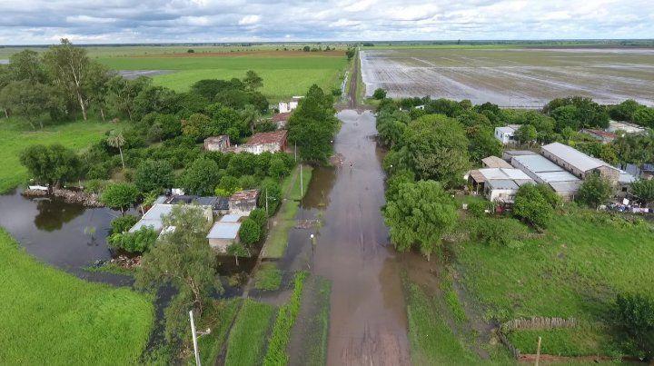 Ya hay 450 evacuados en el norte de la provincia de Santa Fe