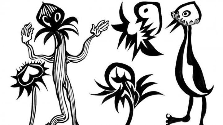 El dibujo como conjuro
