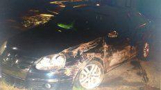 Un gendarme ebrio se estrelló con su coche contra un negocio